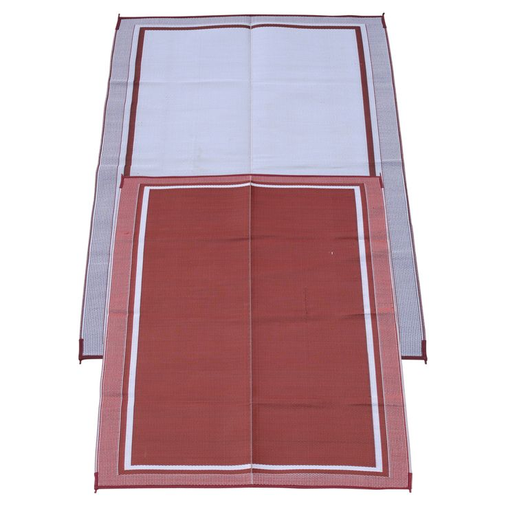 The Fireside Patio Mats Cranberry Sunrise 72 In. Polypropylene Indoor  Outdoor Reversible Patio RV Mat Is Machine Woven And Stain, Fade Resistant.