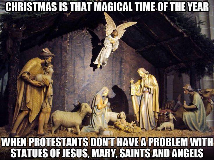 Bahah! Sooo true!!! It's ok when they do it, though. Definitely NOT idolatry. ;)