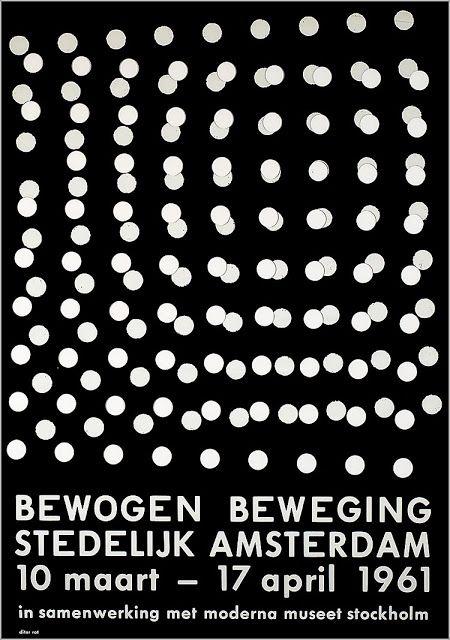 Bewogen beweging, Stedelijk Museum Amsterdam — Dieter Roth (1961)