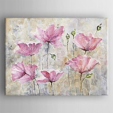 1000 Ideas About Flower Painting Canvas On Pinterest