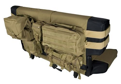 Jeep Accessory - Rugged Ridge Jeep Wrangler Molle Pal Cargo Seat Covers - YJ / TJ / LJ / JK: