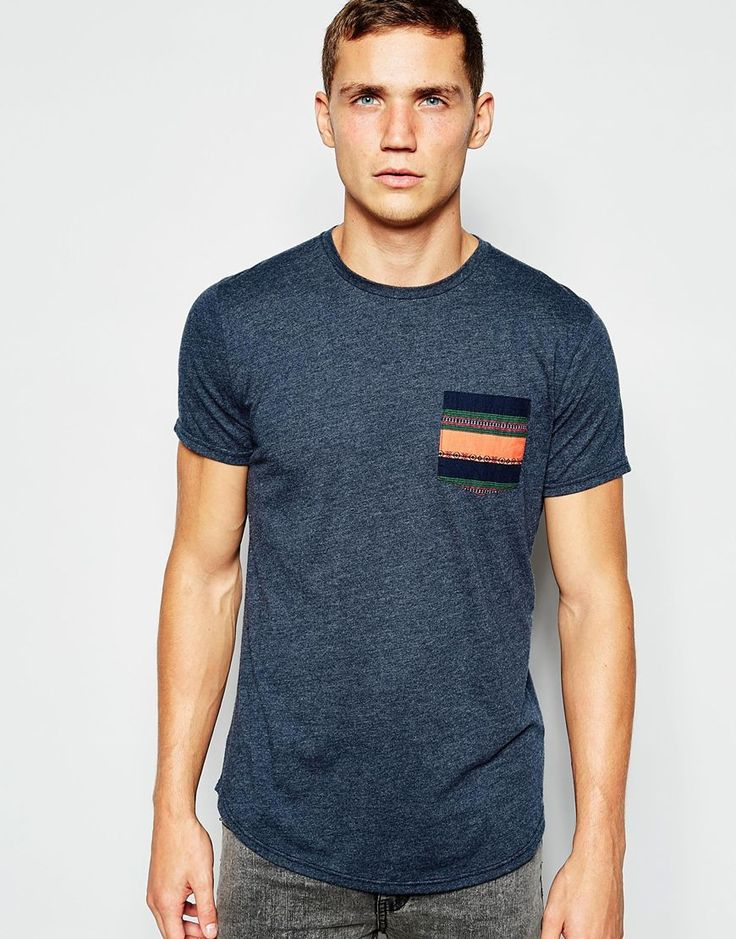 Hollister T-Shirt with Contrast Pocket