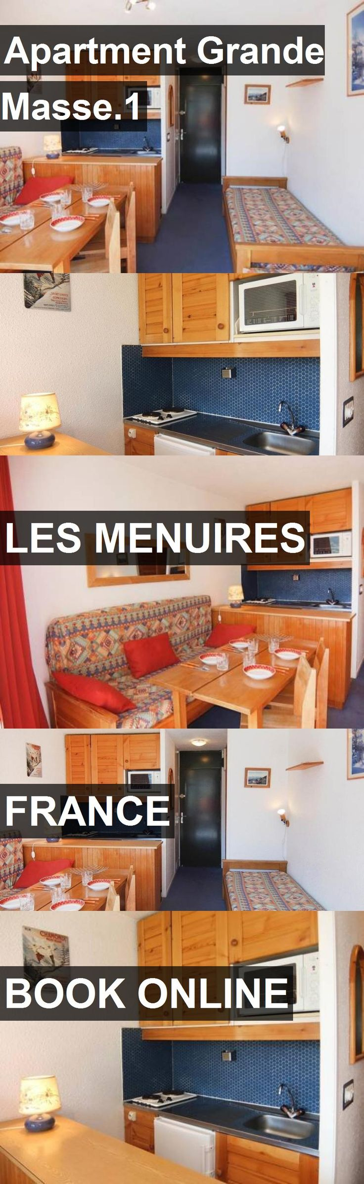 Apartment Grande Masse.1 in Les Menuires, France. For more information, photos, reviews and best prices please follow the link. #France #LesMenuires #travel #vacation #apartment