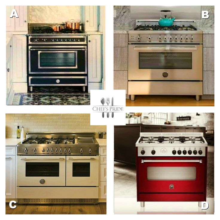 #TakeYourPick! If you could choose, which stove would you want in your kitchen? A,B,C or D? #BestOfBertazzoni