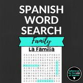 Spanish Family Word Search - Define and find 30 Spanish family members hidden in a challenging puzzle. Students first define the words, then search for them. Fun activity for first year Spanish students or to review. Aligns with Buen Viaje 1 Chapter 6 and can be used with any Spanish curriculum. Use word searches as homework, for fast finishers, an after test activity or as sub plans.
