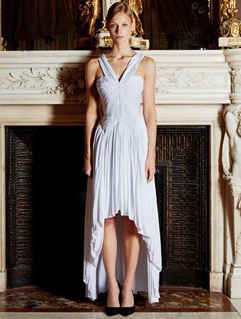 Pin by santorini weddings on the greek wedding dress for Greek wedding dress designers