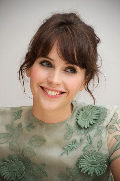 Felicity Jones - British elegance at it's finest, second to Emma Watson.