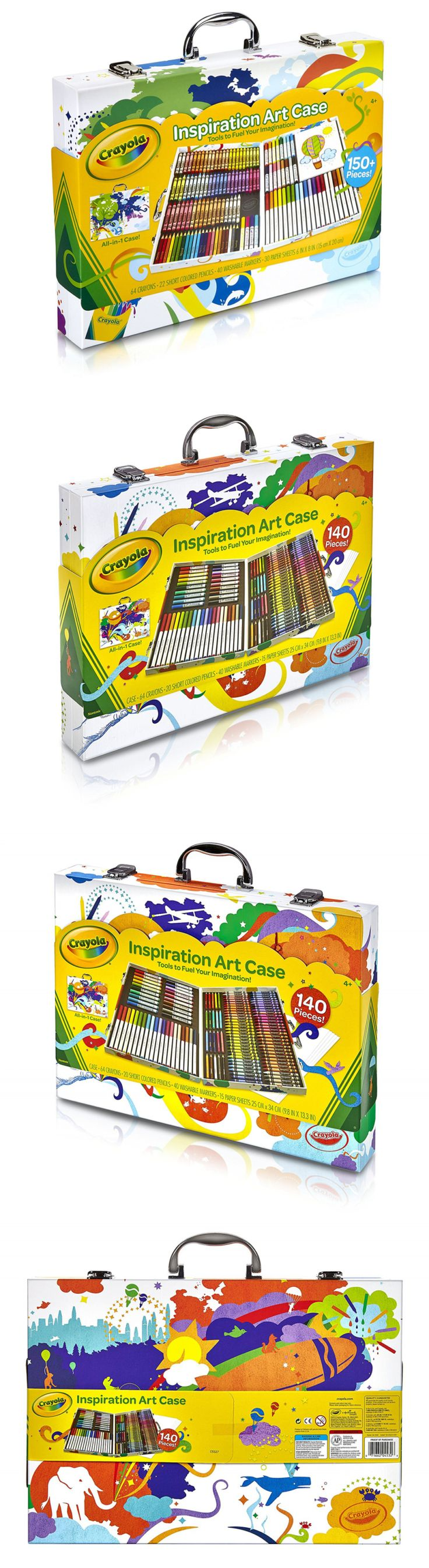 Crayon melting art images amp pictures becuo - Crayons 116653 Crayola Inspiration Art Case Art Tools 140 Pieces Crayons Colored