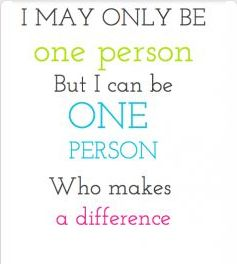 Making A Difference Quotes Awesome 8 Best Making A Difference Quotes Images On Pinterest  Inspire