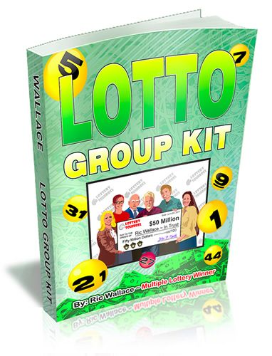 THE LOTTO GROUP KIT - Member agreements & group play forms