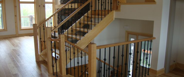 25 best Railing, Spindles and Newel Posts for Stairs ...