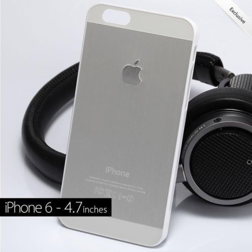 "≥ iPhone 6 4.7"" Silver Aluminium Case - Limited Edition! OP=OP - Mobiele telefoons | Hoesjes en Frontjes | Apple iPhone - Marktplaats.nl . amzn.to/YxWAYn ☻  ☂ ✿. ☻"
