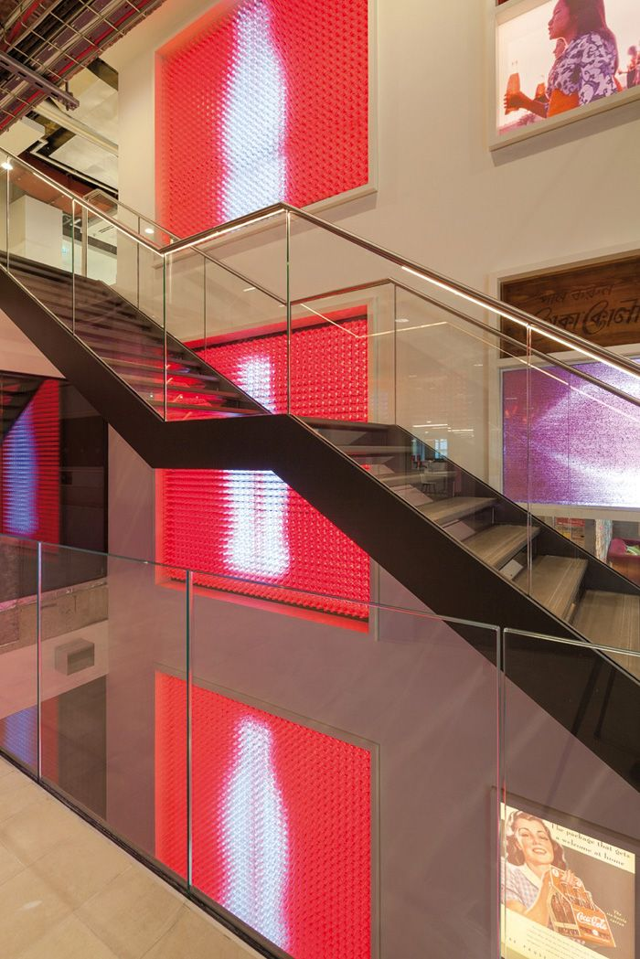 London-based art and design studio Acrylicize used a Colour Tramp matrix controller and 10,240 channels and 32 DMX universes for the installation