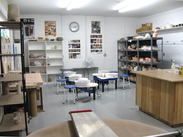 Walnut Street Sampler Pottery Studio Bloomington, IN