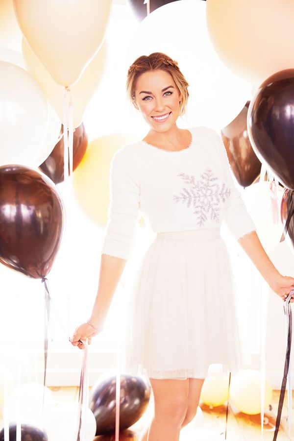 ready for the holidays! {Lauren Conrad wearing her Kohl's line}