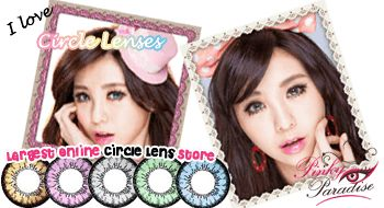 PinkyParadise - The Largest Online Circle Lens Store.  great place for eye enlarging contacts. Perfect for cosplay.