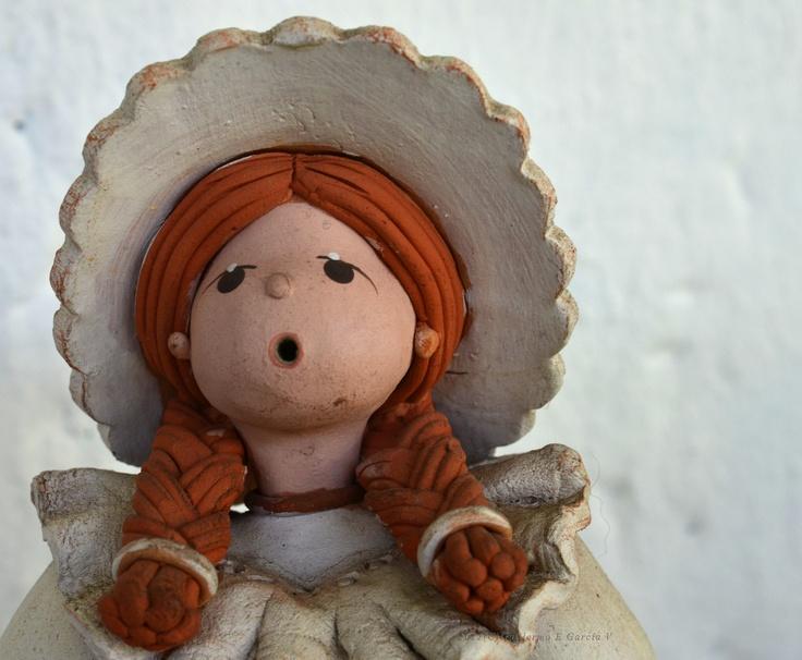 Muñeca de barro.  Bucaramanga, COLOMBIA.