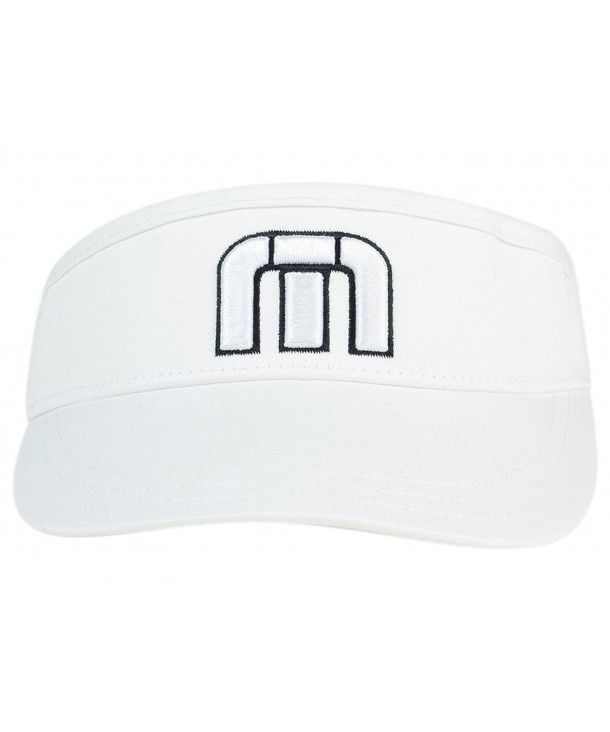 2d6ee9e90 Travis Mathew Men's Everly Golf Visor White C2182KW540Z | Men's Hats ...