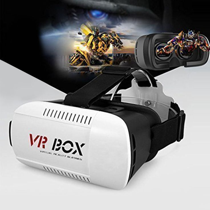 "Google Cardboard VR BOX Virtual Reality 3D Glasses Suit for 4.7""-6"" Screen Phone #UnbrandedGeneric"