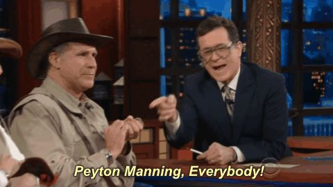 New trending GIF on Giphy. will ferrell peyton manning everybody the late show with stephen colbert late show with stephen colbert. Follow Me CooliPhone6Case on Twitter Facebook Google Instagram LinkedIn Blogger Tumblr Youtube