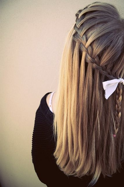 Need to learn how to do this waterfal braid