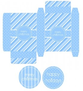 Cute, Fun and Super Easy Gift Box with Tags! Free DIY Printables.
