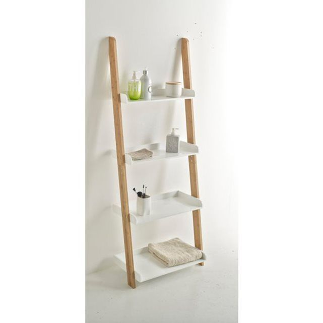 1000 ideas about bamboo ladders on pinterest bamboo - Petite etagere salle de bain ...