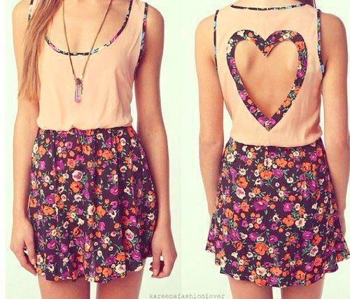 Lovely heart shaped dress www.websitemarketingstrategies.org: Outfits, Fashion, Heart, Style, Clothes, Dream Closet, Dresses