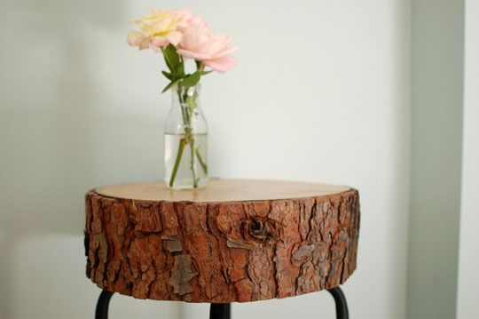 Create Your Own Rustic Log Table