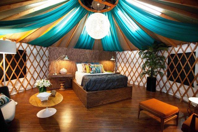 Britany Simon's yurt design.