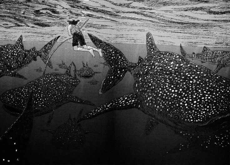 Kaijū no Kodomo / Children of the Sea by Daisuke Igarashi