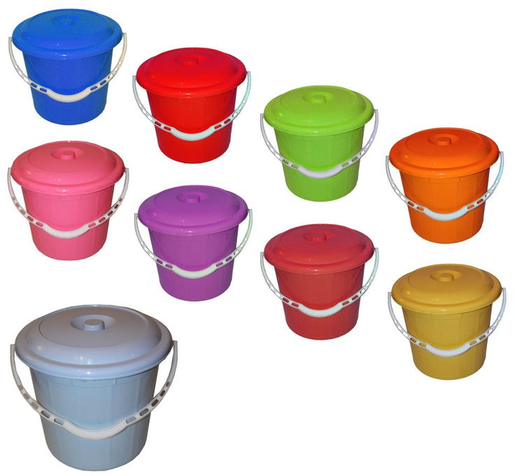 Small bucket with lid oxiclean he washer