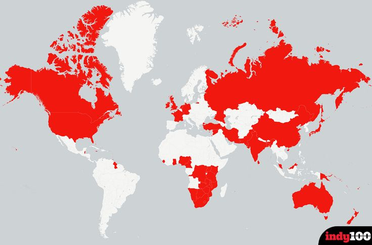 Updated: A map of all the countries Boris Johnson has offended