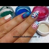VIDEO:  Nail Art with CND Additives