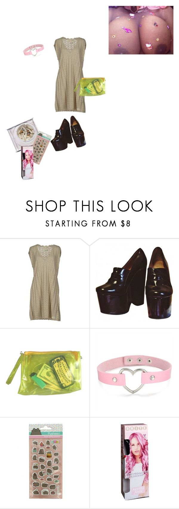 """""""Untitled #8"""" by asterplaster ❤ liked on Polyvore featuring Ash, Odd Molly, Jeffrey Campbell, Pusheen and Forever 21"""