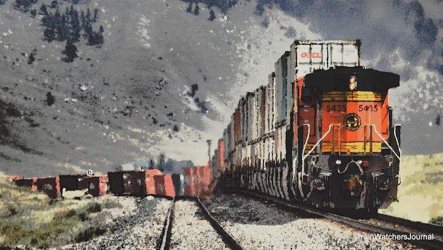TrainWatchersJournal: TWJ Preview - Wave of Ocean Stacks on the MRL
