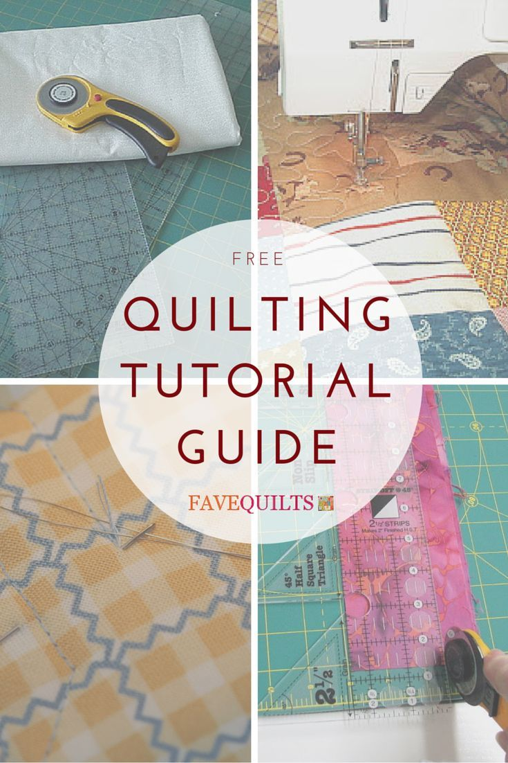 Quilting Tutorial Guide: Must-Read Quilt Tutorials for Beginner Quilt Patterns - If you're making your first beginner quilt patterns or need a refresher on a particular aspect of quilting, check out our new collection of 20 quilting tutorials. We've got helpful links for quilt tutorials for everything from cutting to binding a quilt.