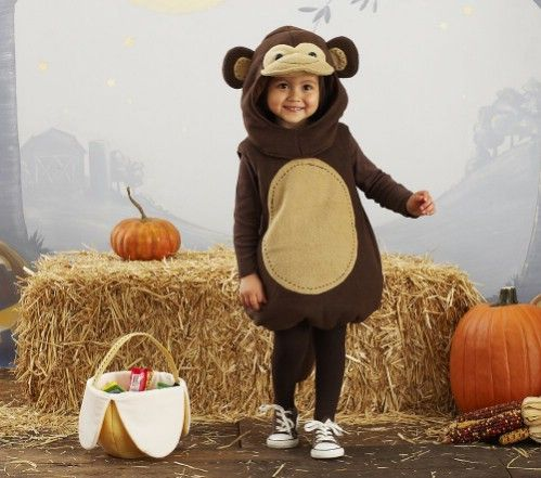 7. Pottery Barn Kids Monkey Costume - 7 Clever Halloween Costumes for Boys ... → Fashion