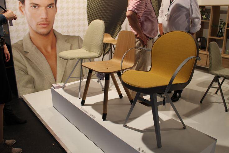 Waarzinnige retro-style stoeltjes van Spoinq - gezien op #DesignDistrict 2014