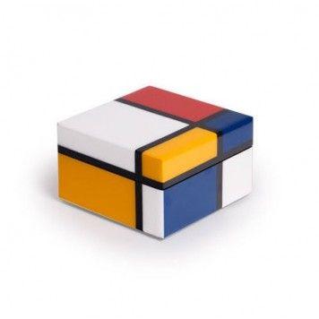 Boîte carré Mondrian