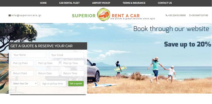 Superior Car Rental Agency In Rhodes island