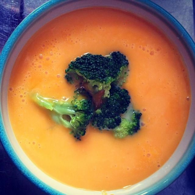 甘くて美味しい - 33件のもぐもぐ - ピーナッツバターかぼちゃの冷製スープ by Prorikin
