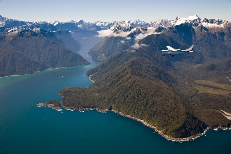 Mouth of Milford Sound