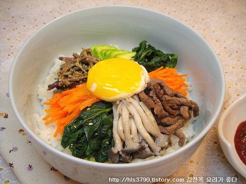 세계인이 인정한 건강음식 비빔밥 만들기 *^^* :: 김진옥 요리가 좋다