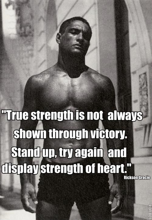 Stand up and try again❤️  Rickson Gracie the most technichal of the Gracie's #McDojo #McDojoLife www.Facebook.com/McDojoLife