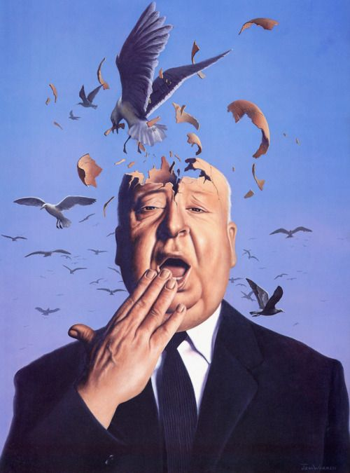 Birds - Alfred Hitchcock