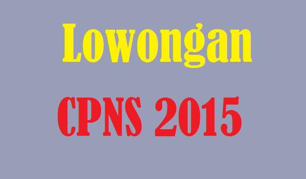 Lowongan CPNS 2015