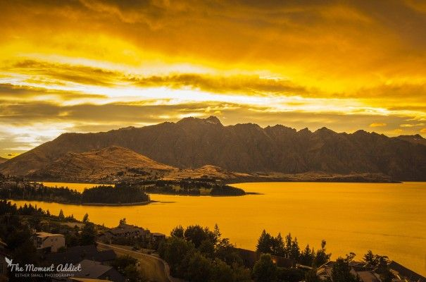 Autumn sunrise over the Remarkables