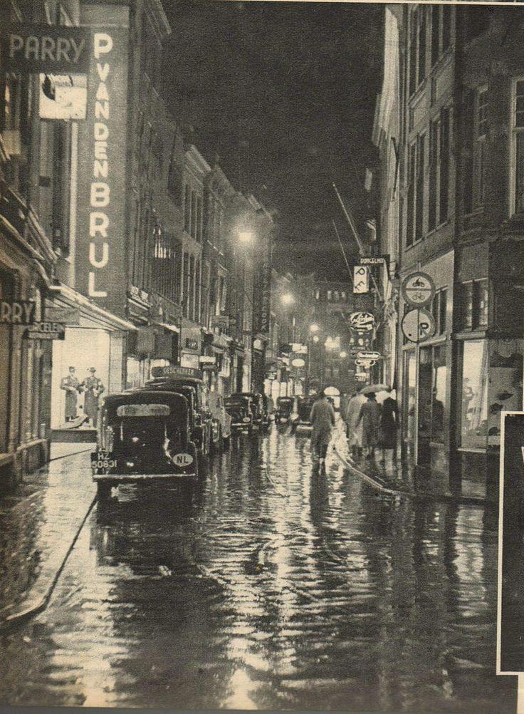 den haag Hoogstraat 1939