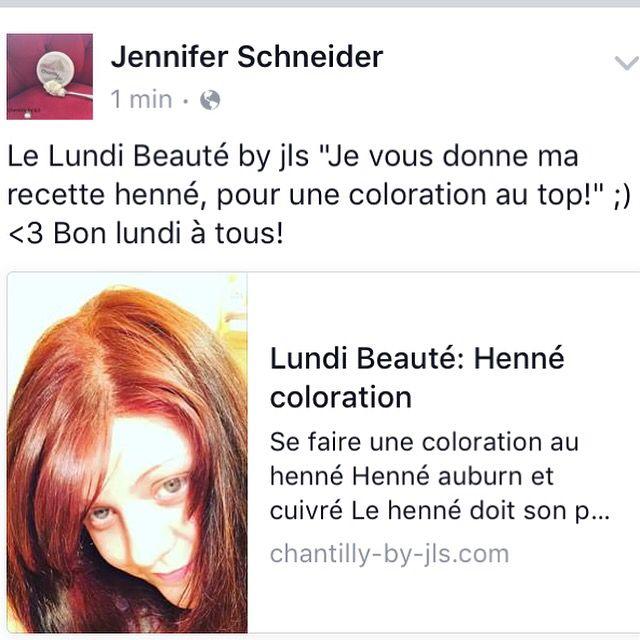 sur le blog je vous parle de mon hennhenne color auburn - Coloration Au Henn Auburn